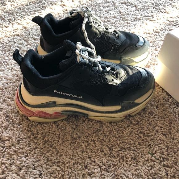 puente Escribe email Electropositivo  Balenciaga Shoes | Balenciaga Triple S Size 38 Unisex | Poshmark